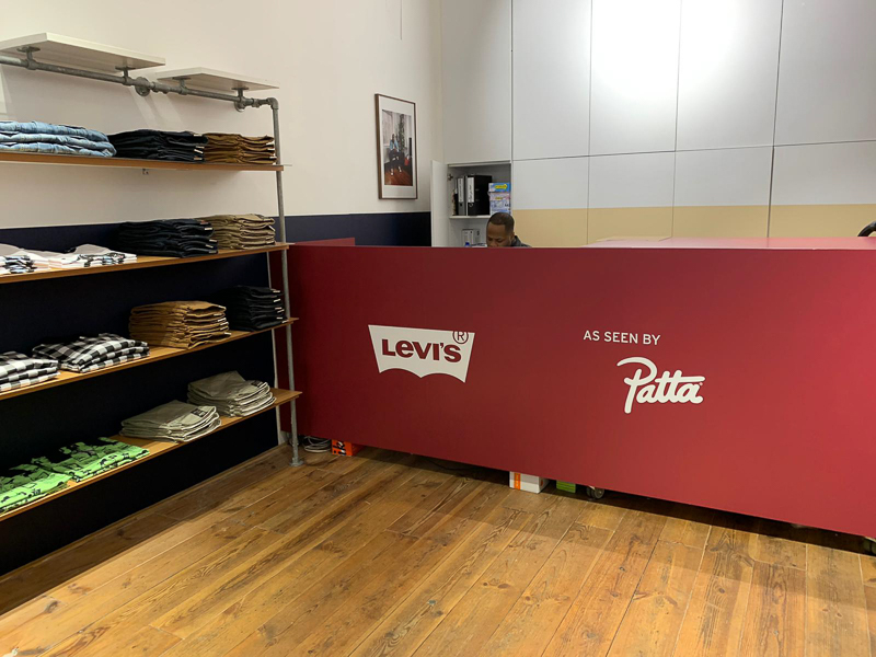 POP UP SHOP - Levi's as seen by Patta March 2020-2