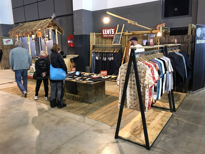 TRADESHOW - Levi's surf at Wheels and Waves Biarritz 2018-2