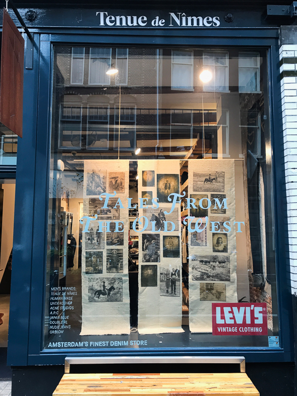 WINDOW - Levi's Old West at TdN Amsterdam 2017-2